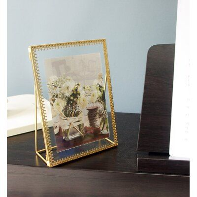 Quezada Hinged Cover Picture Frame