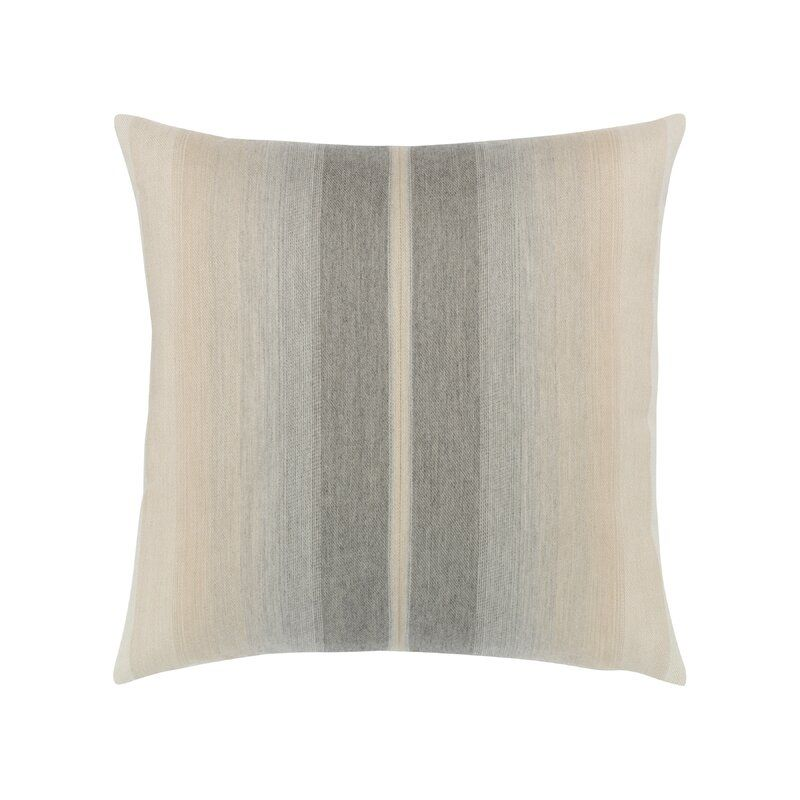Elaine Smith Ombre Striped Outdoor Square Pillow