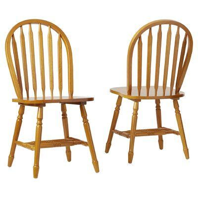 Gennevilliers Solid Wood Windsor Back Side Chair