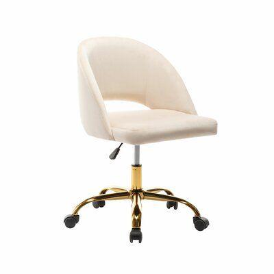 Romulus Task Chair -  Cream