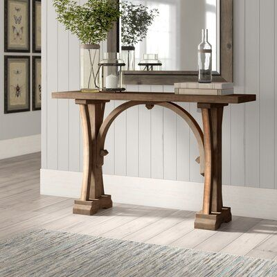 """Winfield 54"""" Solid Wood Console Table"""