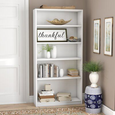 "Kirkbride 72"" H x 36.92"" W Standard Bookcase"