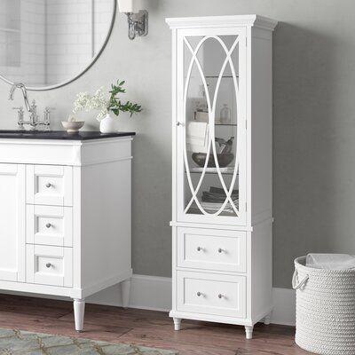 """Gabby 18"""" W x 60"""" H x 14"""" D Linen Cabinet"""