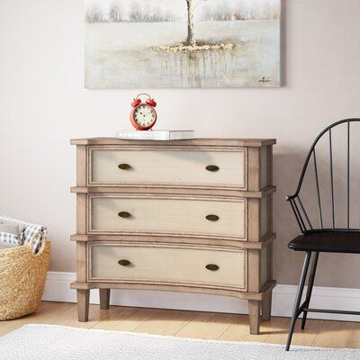 Cavana 3 Drawers Apothecary Accent Chest