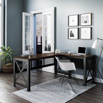 Rani Height Adjustable L-Shape Standing Desk