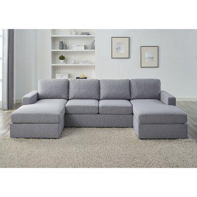 "Fenisia 110"" Wide Symmetrical Sofa & Chaise"