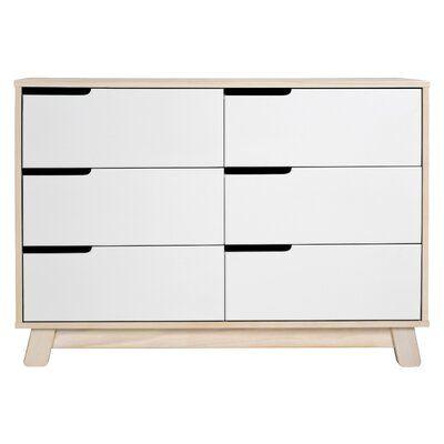 Hudson 6 Drawer Double Dresser Back in Stock Aug 15, 2021.