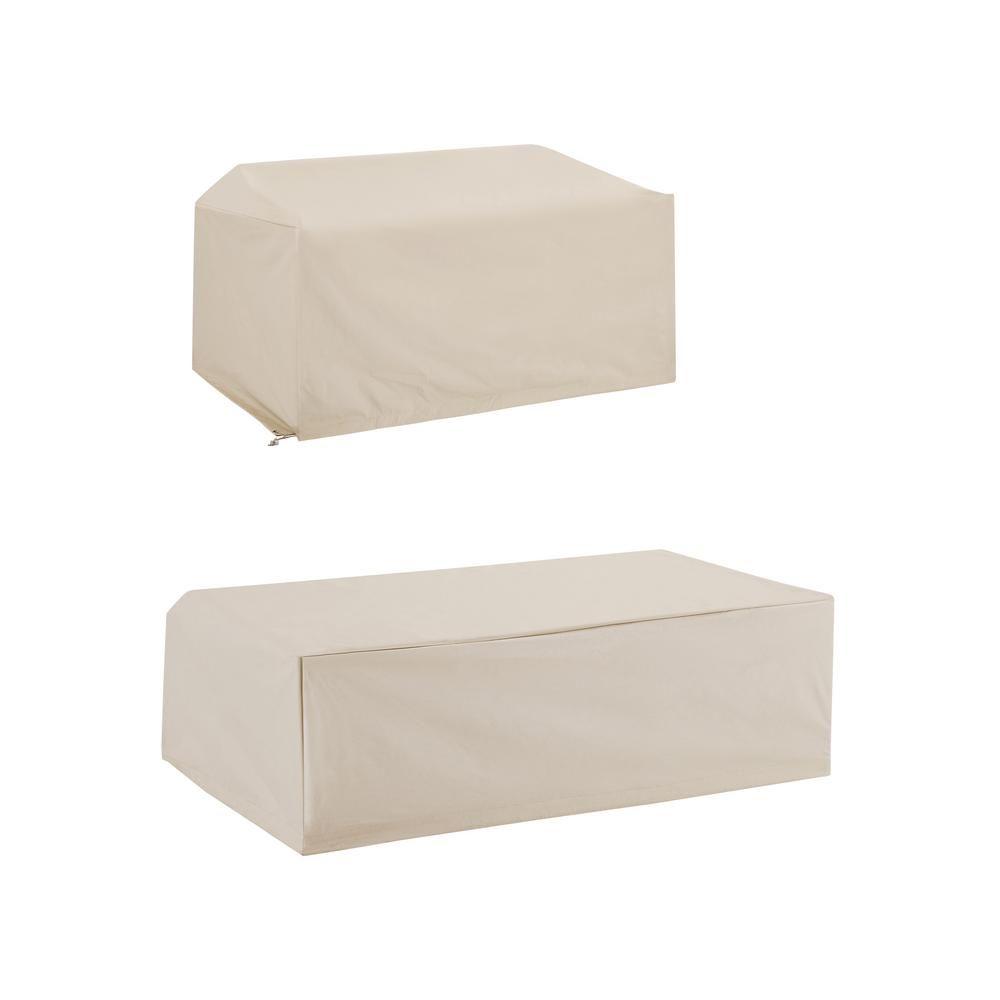 CROSLEY FURNITURE Crosley Tan Furniture Cover Set (2-Piece)