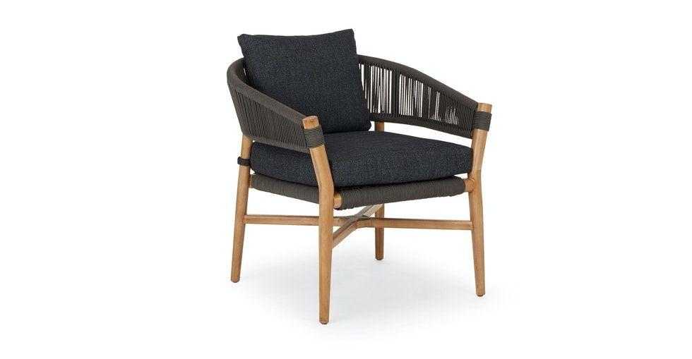 Makali Slate Gray Lounge Chair