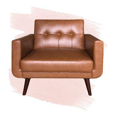 Jordynn 37'' Wide Tufted Armchair
