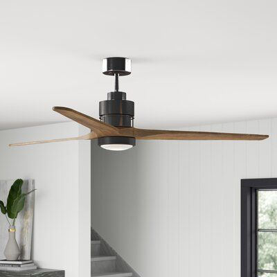 """Mcdaniels 70""""  3 - Blade LED Propeller Ceiling Fan with Light Kit Included"""