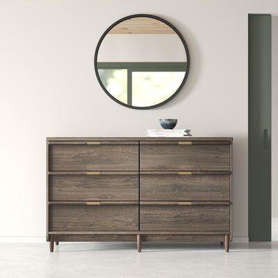 Kelsie 6 Drawer Double Dresser
