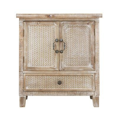 Daughtery 2 Door Square Accent Cabinet