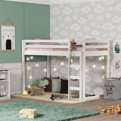 Ackerly Twin Low Loft Bed