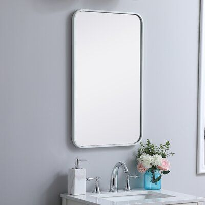 Rosenblatt Soft Corner Metal Accent Mirror