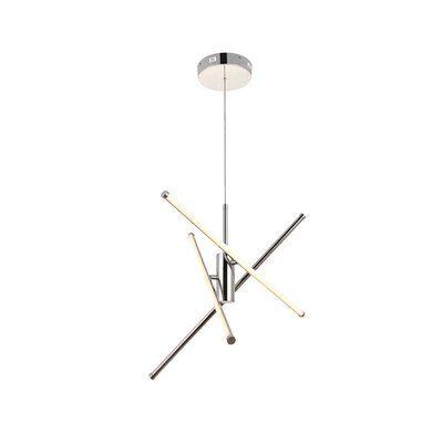 Hertford 3 - Light Sputnik Modern Linear LED Chandelier