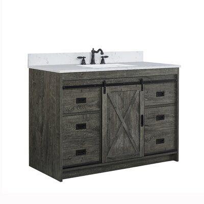 "RaNesha 48"" Single Bathroom Vanity Set"