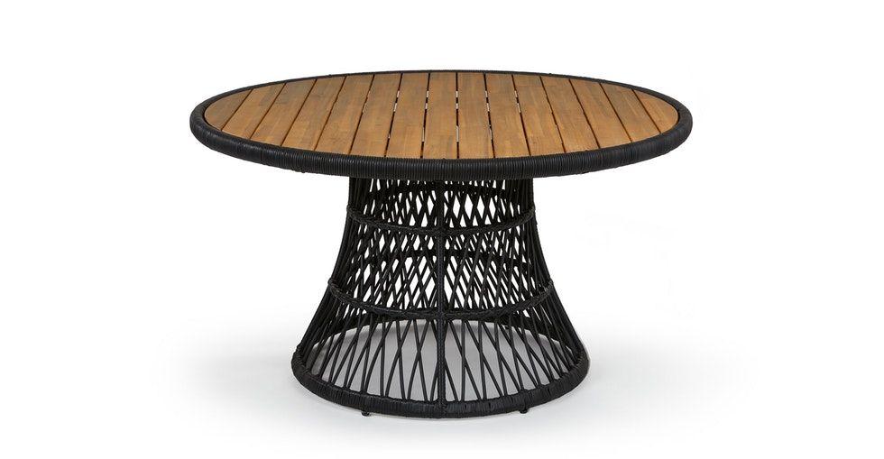 Calliope Black Dining Table