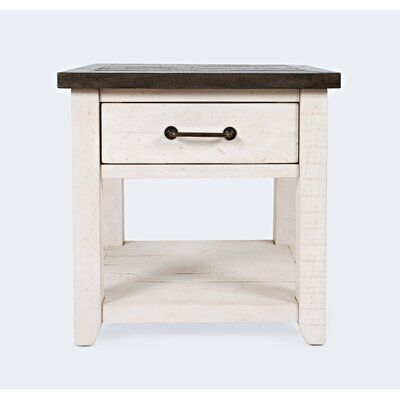 Westhoff End Table with Storage