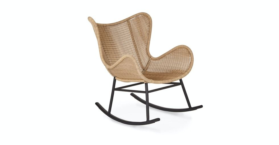 Beltaine Natural Rocking Chair