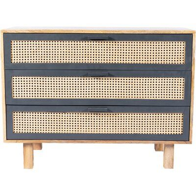 Rexdale 3 Drawer Accent Chest