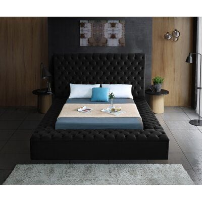 Geralyn Upholstered Storage Platform Bed