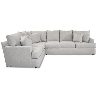 """Findley 124"""" Corner Sectional"""