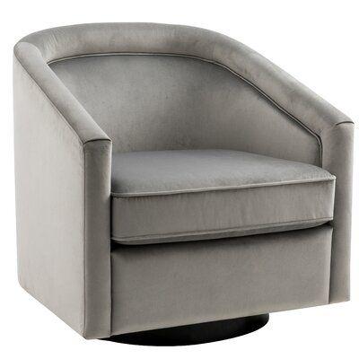 "Ciara Swivel 25"" Barrel Chair"