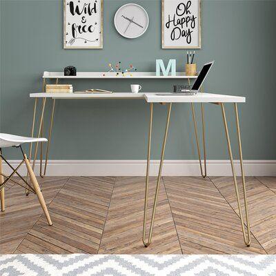 Vansant L-Shape Desk