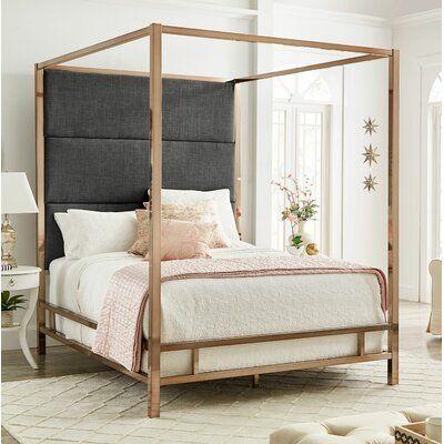 Moyers UpholsteredCanopy Bed