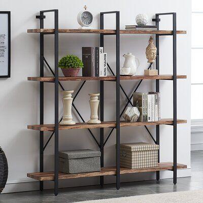Khat Double Etagere Bookcase