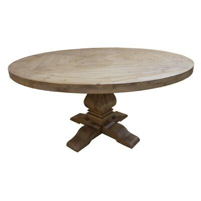 Cheatham Solid Wood Dining Table