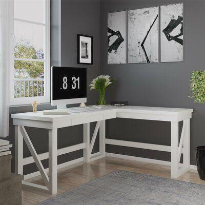 Schaeffer Height Adjustable L-Shape Desk