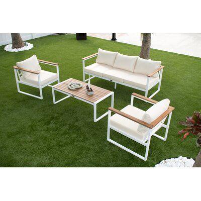 Panama Jack Dana Point 4-Piece Seating Set
