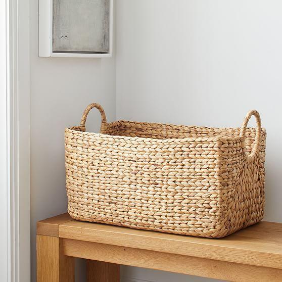 Curved Basket, Rectangular Utility, Medium