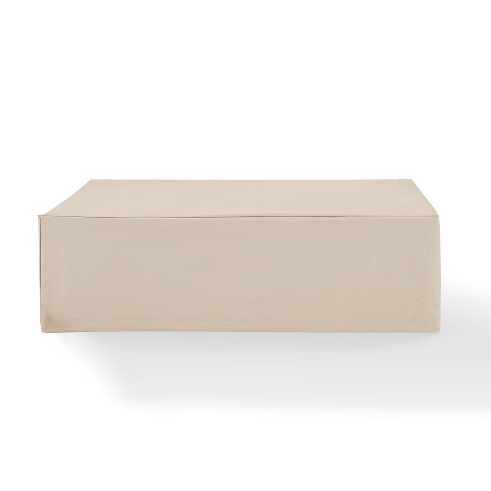 CROSLEY Tan Rectangular Table Furniture Cover
