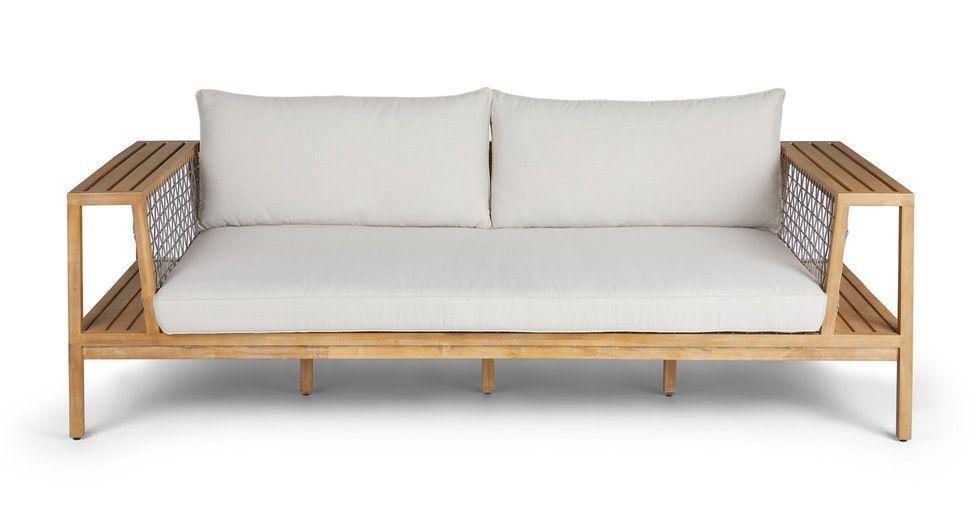 Callais Lily White Sofa