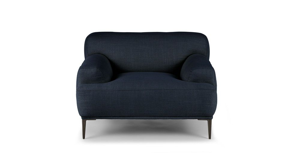 Abisko Aurora Blue Lounge Chair