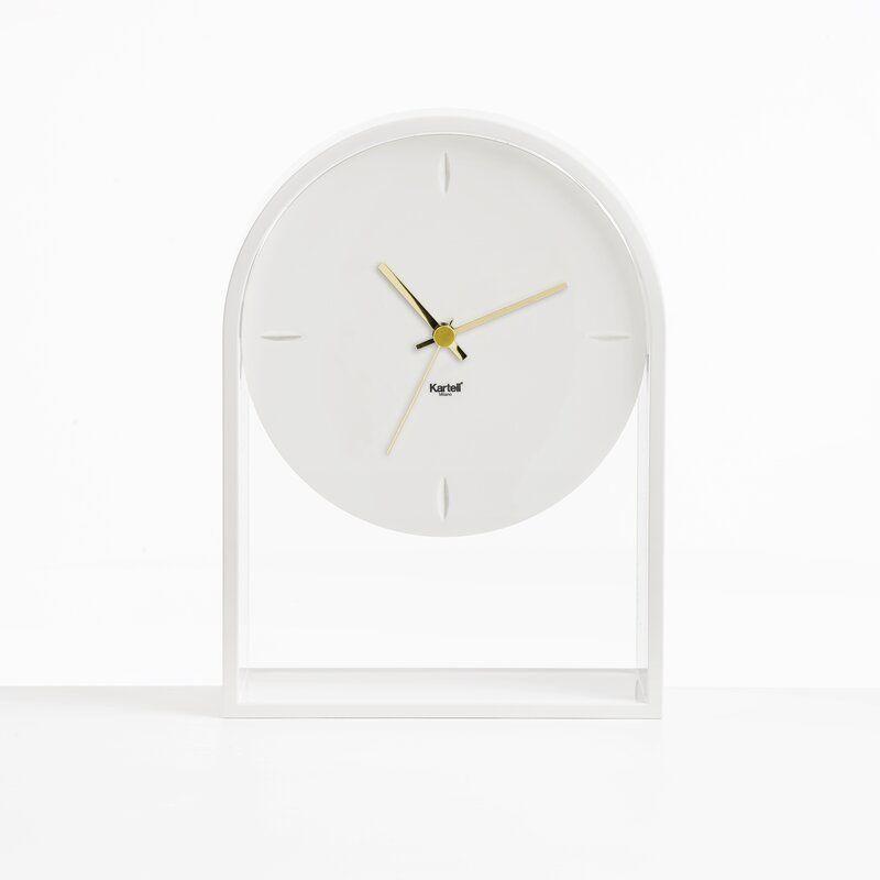 Kartell Air Du Temp Clock Color: White