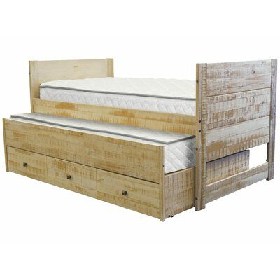 Nailsworth All in One Twin Mate's & Captain's Bed with Trundle and Drawers