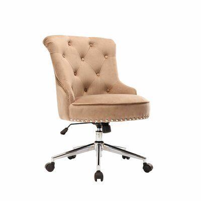 Augusta Velvet Task Chair