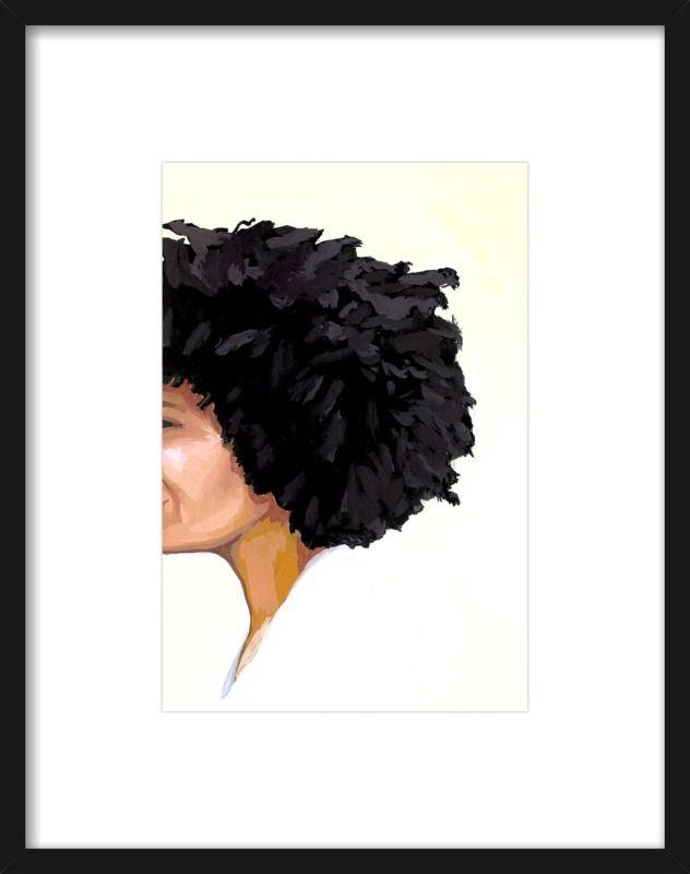 Afro 1 by Elizabeth Mayville for Artfully Walls