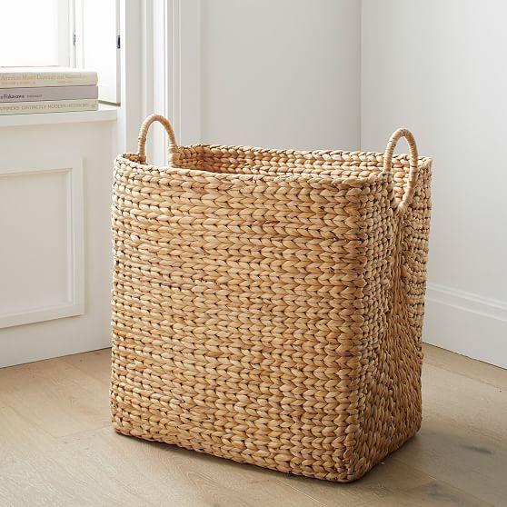 Curved Basket, Rectangular Utility, Large