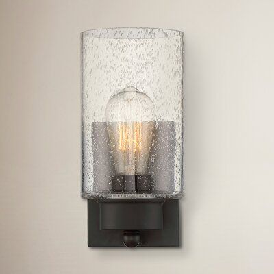 Aanya 1-Light Dimmable Armed Sconce