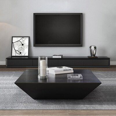 Casterlin Solid Coffee Table with Storage