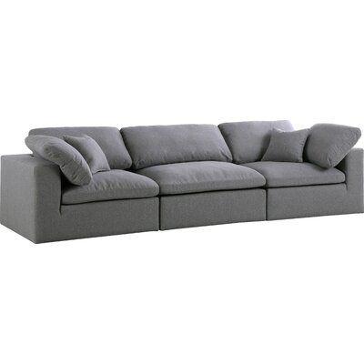 "Robesonia Modular 119"" Square Arm Sofa"