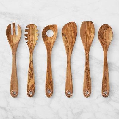 Ruffoni 6-Piece Olivewood Tool Set