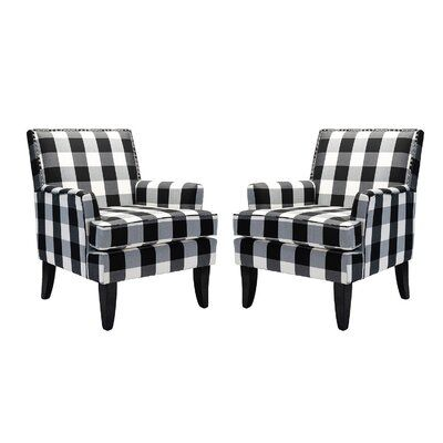 """Bethine 27.15"""" W Polyester Armchair"""