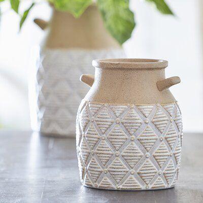 Fredericksburg Geometric Table Vase