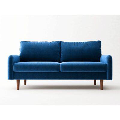 """Cilla 72"""" Square Arm Sofa"""